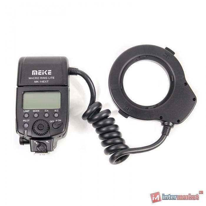Кольцевая макровспышка Meike для Nikon MK-14EXT
