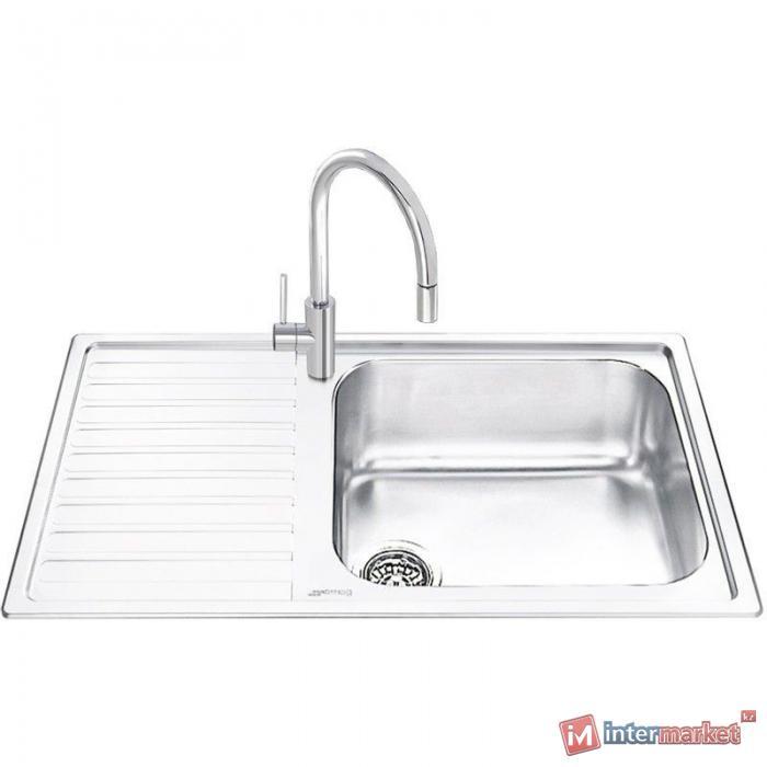 Кухонная мойка SMEG-BI LGM861S-2